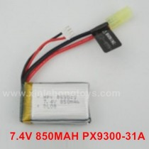 PXtoys 9307E Battery 7.4V 850MAH