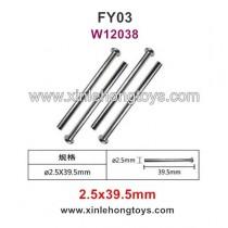 Feiyue FY03 Parts Front Box Nail Head Shaft W12038