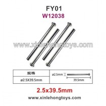 Feiyue FY01 Parts Front Box Nail Head Shaft W12038