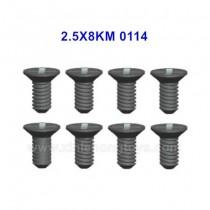 Wltoys 144001 Parts Screw 2.5X8KM 0114