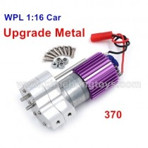 WPL C-14 Upgrade All Metal Gearbox, With 370 Motor