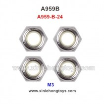 WLtoys A959B Parts M3 Locknut A959-B-24