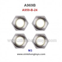 WLtoys A969B Parts M3 Locknut A959-B-24