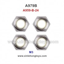WLtoys A979B Parts M3 Locknut A959-B-24