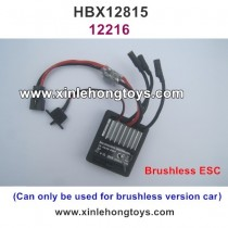 HBX 12815 Parts Brushless ESC, Receiver 12216