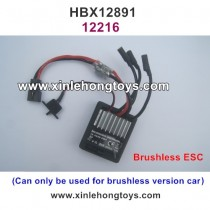 HBX 12891 Dune Thunder Parts Brushless ESC, Receiver 12216