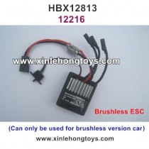 HBX 12813 SURVIVOR MT Parts Brushless ESC, Receiver 12216