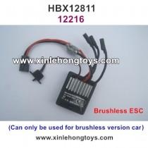 HBX 12811 SURVIVOR XB Parts Brushless ESC, Receiver 12216