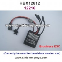 HBX 12812 Parts Brushless ESC, Receiver 12216