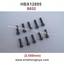 HBX 12895 Transit  Parts Cap Head Screw 2.5X8 S032