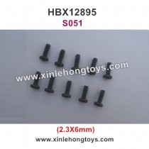 HBX 12895 Transit Parts Screw 2.3X6mm S051