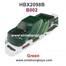 HBX 2098b Devastator Parts Car Shell, Body Shell Green B002
