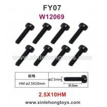 Feiyue FY07 Desert-7 Parts Screws W12069