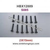 HBX 12889 Parts Screws 3X15mm S085