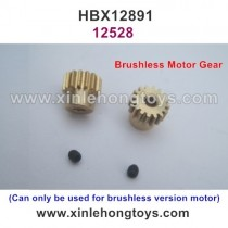 HBX 12891 Dune Thunder Parts Brushless Motor Gears 16T 12528