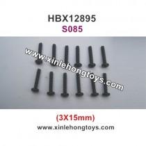 HBX 12895 Parts Screws 3X15mm S085