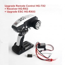 HG P401 P402 Upgrade Remote Control + Receiver + ESC Kit