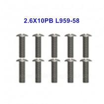 Wltoys 144001 Spare Parts Screw L959-58
