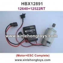 HBX 12891 Dune Thunder Parts Motor and ESC Complete 12640+12522RT