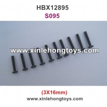 HBX 12895 Transit Parts Round Head Screw 3X16mm S095