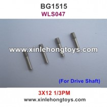 Subotech BG1515 Parts 3X12 Inner Hexagon Screw WLS047