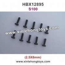 HBX 12895 Transit Parts Round Head Screw 2.5X8mm S100