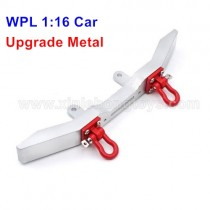 WPL B-1 B14 Upgrade Metal Front Bumper+Rescue Lock