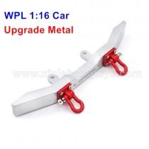 WPL B-1 B-16 Upgrade Metal Front Bumper+Rescue Lock