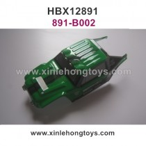 HaiBoXing HBX 12891 Car Shell, Body Shell Green 891-B002