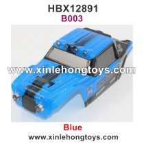 HaiBoXing HBX 12891 Parts Car Shell, Body Shell Blue 891-B003