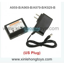 WLtoys K929-B Balanced charger + adapter (US Plug) A949-58