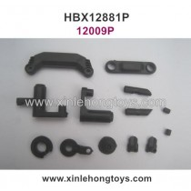 HaiBoXing HBX 12881P Parts Steering Assembly+Servo Saver Assembly+Battery cover 12009P