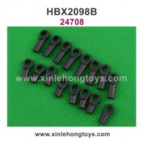 HBX 2098B Parts Linkage Rod Ends 24708