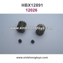 HBX 12891 Dune Thunder Parts Motor Gear 13T+Machine Screws 12026