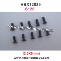 HBX 12889 Thruster Parts Countersunk Self Tapping Screw 2.3X6mm S128