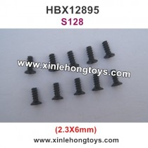 HBX 12895 Transit  Parts Countersunk Self Tapping Screw 2.3X6mm S128