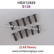 HBX 12889 Screw 2.6X10mm S138