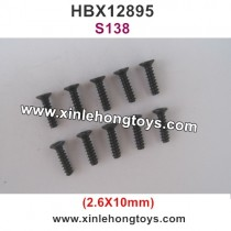 HBX 12895 Screw 2.6X10mm S138