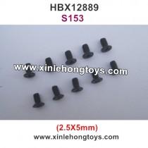 HBX 12889 Thruster Parts Screw 2.5X5mm S153