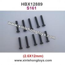 HBX 12889 Thruster Parts Screws 2.6X12mm S161