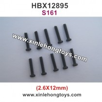 HBX 12895 Parts Screws 2.6X12mm S161