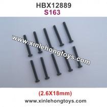 HBX 12889 Screws 2.6X18mm S163