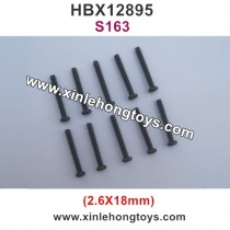 HBX 12895 Screws 2.6X18mm S163