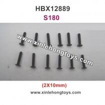 HBX 12889 Thruster Parts Screw 2X10mm S180