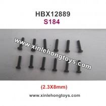 HBX 12889 Thruster Parts Screw 2.3X8mm S184