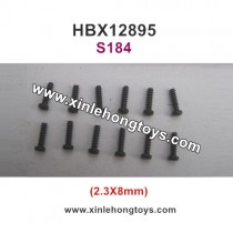 HBX 12895 Transit Parts Screw 2.3X8mm S184