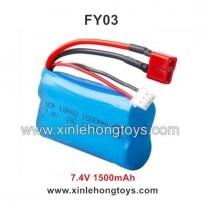 Feiyue FY03 Battery 7.4V 1500mAh