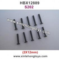 HBX 12889 Parts Screw 2X12mm S202