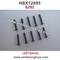 HBX 12895 Parts Screw 2X12mm S202