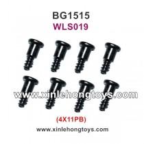 Subotech BG1515 Parts 4X11PB Sidestep Screw WLS019